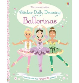 EDC PUBLISHING STICKER DOLLY DRESSING BALLERINAS