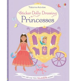 EDC PUBLISHING STICKER DOLLY DRESSING PRINCESSES