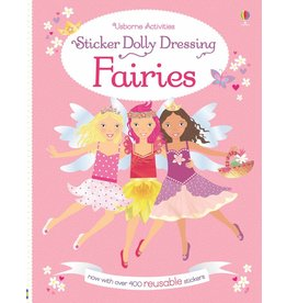 EDC PUBLISHING STICKER DOLLY DRESSING FAIRIES