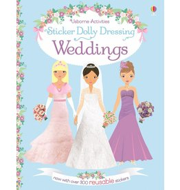 EDC PUBLISHING STICKER DOLLY DRESSING WEDDINGS*