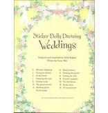 EDC PUBLISHING STICKER DOLLY DRESSING WEDDINGS*