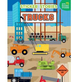 PENGUIN STICKER STORIES TRUCKS PB MILLER