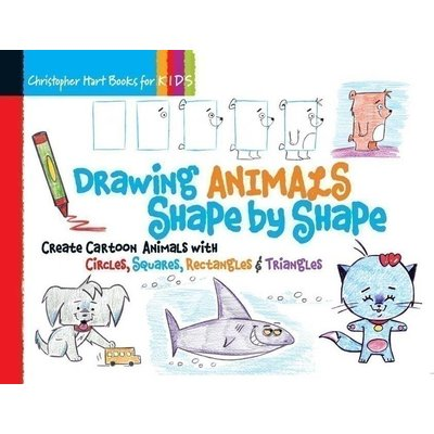 STERLING PUBLISHING DRAWING ANIMALS BY SHAPE