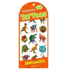 PEACEABLE KINGDOM DINOSAUR TEMPORARY TATTOOS