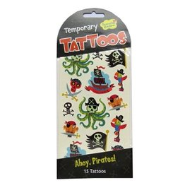 PEACEABLE KINGDOM PIRATES TEMPORARY TATTOOS