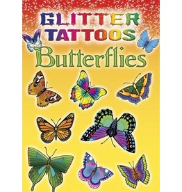 DOVER PUBLICATIONS GLITTER TATTOOS BUTTERFLIES (LAB)*