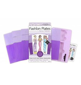 KAHOOTZ FASHION PLATES GLAMOUR COLLECTION EXPANSION SET