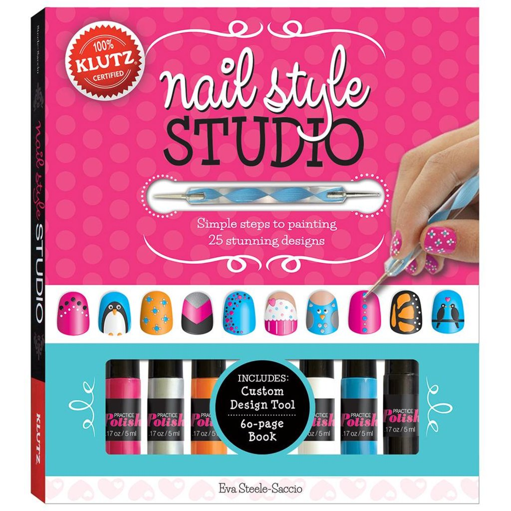 Nail Style Studio Klutz The Toy Store