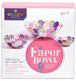 ANN WILLIAMS CRAFT-TASTIC PAPER BOWL KIT