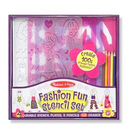 MELISSA AND DOUG FASHION FUN STENCIL SET*
