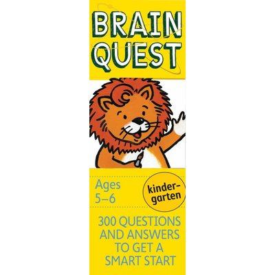 WORKMAN PUBLISHING BRAIN QUEST CARDS KINDERGARTEN