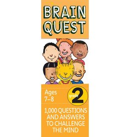 WORKMAN PUBLISHING BRAIN QUEST CARDS GRADE 2