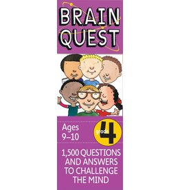 WORKMAN PUBLISHING BRAIN QUEST CARDS GRADE 4