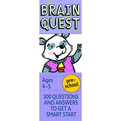WORKMAN PUBLISHING BRAIN QUEST CARDS PRESCHOOL