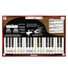 TOT TALK YOUNG PIANIST PLACEMAT