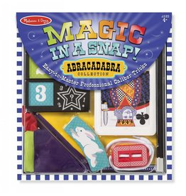 MELISSA AND DOUG MAGIC IN A SNAP! ABRACADABRA COLLECTION