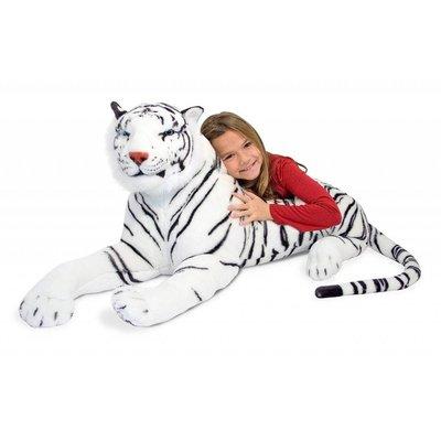 MELISSA AND DOUG WHITE TIGER LARGE