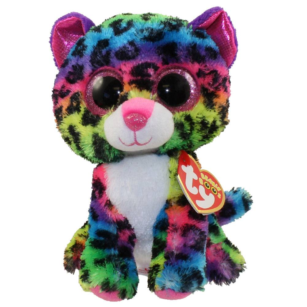 TY DOTTY LEOPARD BEANIE BOO - THE TOY STORE ee6bcaa31f48