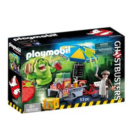 PLAYMOBIL GHOSTBUSTERS SLIMER WITH HOT DOG STAND PLAYMOBIL