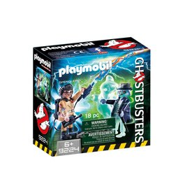 PLAYMOBIL GHOSTBUSTERS SPENGLER AND GHOST PLAYMOBIL