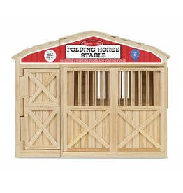 MELISSA AND DOUG FOLDING HORSE STABLE M & D