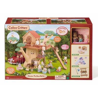 CALICO CRITTERS ADVENTURE TREE HOUSE GIFT SET CALICO CRITTERS