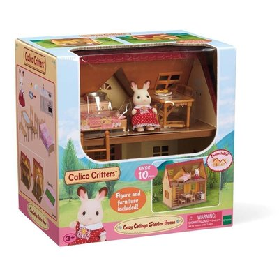 CALICO CRITTERS COTTAGE STARTER HOME CALICO CRITTERS