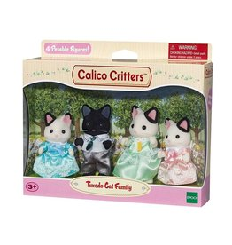 CALICO CRITTERS TUXEDO CAT FAMILY CALICO CRITTERS