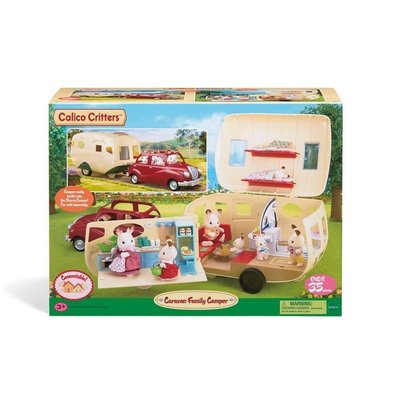 CALICO CRITTERS CARAVAN FAMILY CAMPER CALICO CRITTERS