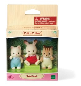 CALICO CRITTERS BABY FRIENDS SET CALICO CRITTERS