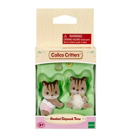 CALICO CRITTERS HAZELNUT CHIPMUNK TWINS CALICO CRITTERS*