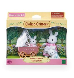 CALICO CRITTERS CARRIAGE RIDE CALICO CRITTERS