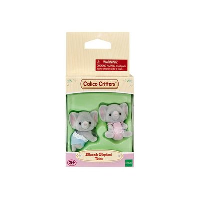 CALICO CRITTERS ELLWOODS ELEPHANT TWINS CALICO CRITTERS