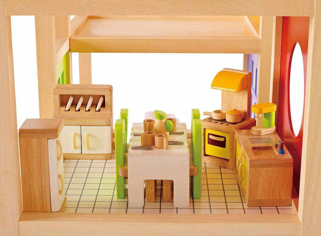 Hape Dollhouse Kitchen The Toy Store