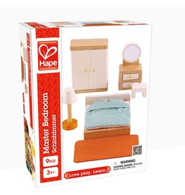 HAPE DOLLHOUSE MASTER BEDROOM