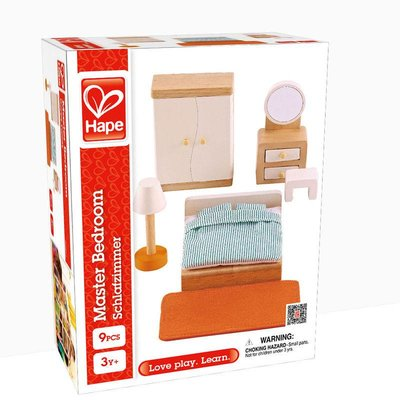 HAPE DOLLHOUSE MASTER BEDROOM