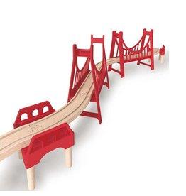 HAPE EXTENDED DOUBLE SUSPENSION BRIDGE