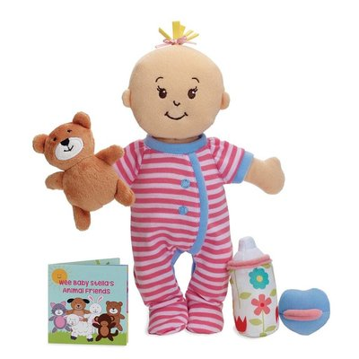 MANHATTAN TOY WEE BABY STELLA PEACH SLEEPY TIME SCENTS SET