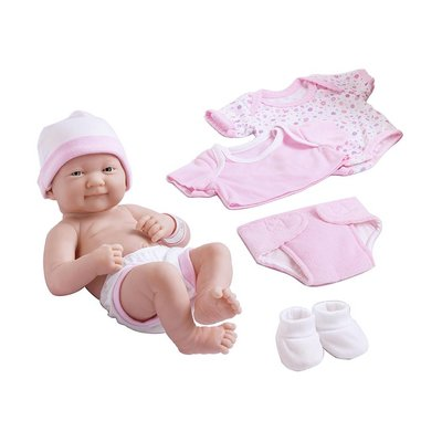 J C TOYS GROUP LA NEWBORN LAYETTE SET