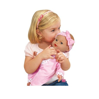 """CASTLE TOY 11"""" TALKING BABY DOLL"""