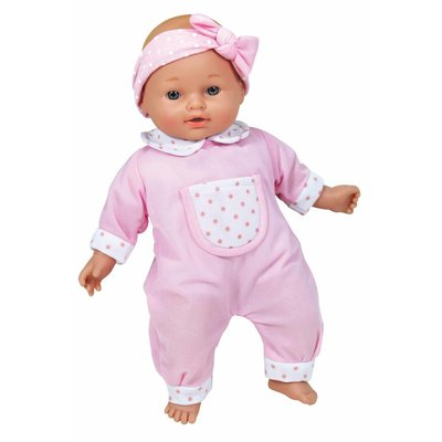 "CASTLE TOY 11"" TALKING BABY DOLL"