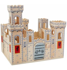 MELISSA AND DOUG FOLDING MEDIEVAL CASTLE M & D