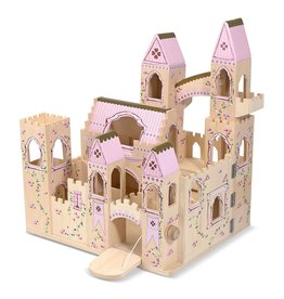 MELISSA AND DOUG FOLDING PRINCESS CASTLE M & D