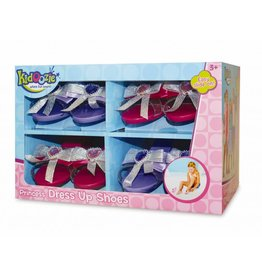 KIDOOZIE PRINCESS DRESS UP SHOES 4 PACK