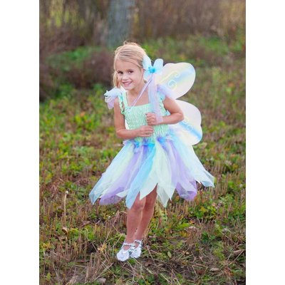 GREAT PRETENDERS BUTTERFLY DRESS WITH WINGS & WAND