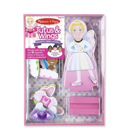 MELISSA AND DOUG TUTUS & WINGS MAGNETIC DRESS UP