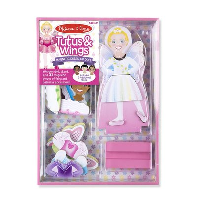 MELISSA AND DOUG TUTUS & WINGS MAGNETIC DRESS UP SET