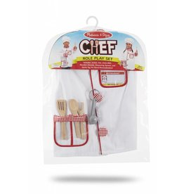 MELISSA AND DOUG CHEF ROLE PLAY SET M & D