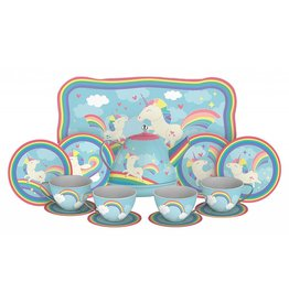 SCHYLLING ASSOCIATES UNICORN TIN TEA SET