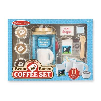MELISSA AND DOUG BREW & SERVE COFFEE SET